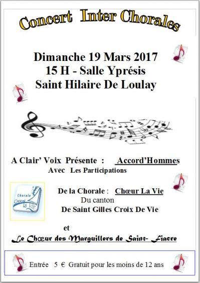 Concert inter chorales 19 03 2017