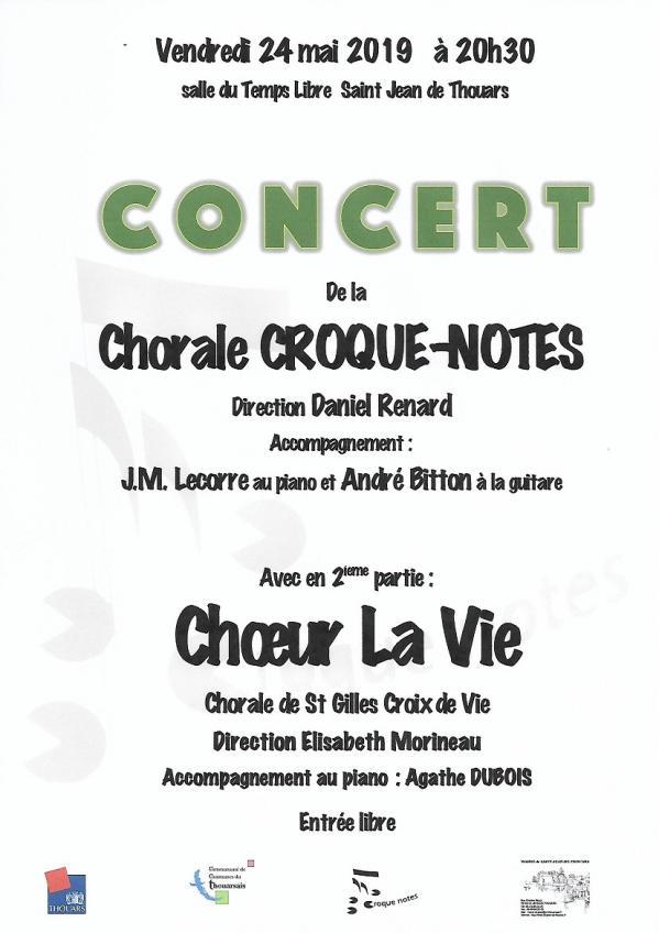 Concert st jean de thouars a